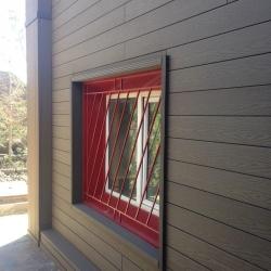 پوشش دیوار ها و قاب پنجره